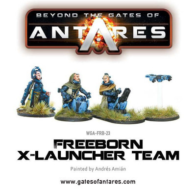 Freeborn X launcher Team - Beyond The Gates Of Antares