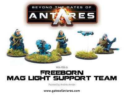 Freeborn Support Team with Mag Light support - Beyond The Gates Of Antares