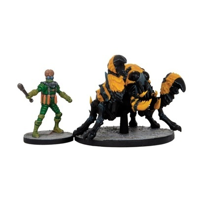 Mars Attacks - Giant Mutant Spider (2 Figuren)