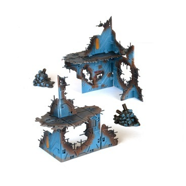 Battlezones - Ruined Outpost Kit - Mantic Games