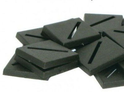 25mm Square Bases - (40 Stk.) - Kingsley