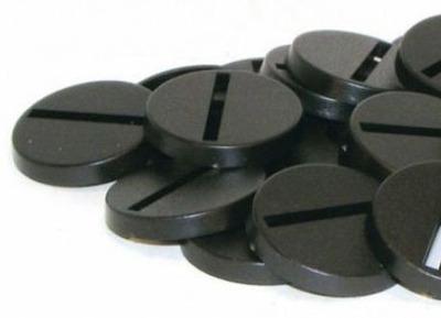 25mm Round Bases - (40 Stk.) - Kingsley