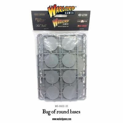 Bag of Round bases - 30 Stk. div Grössen - Warlord Games