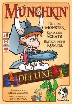 Munchkin Deluxe - Kartenspiel - Pegasus Spiele