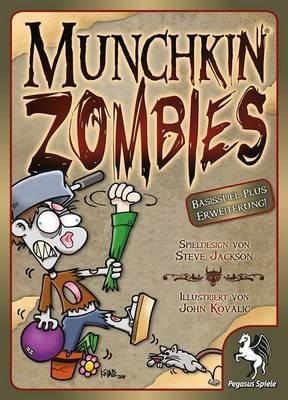Munchkin Zombies 1+2 - Kartenspiel - Pegasus Spiele