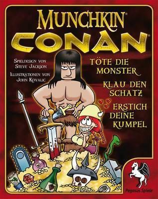 Munchkin Conan - Kartenspiel - Pegasus Spiele