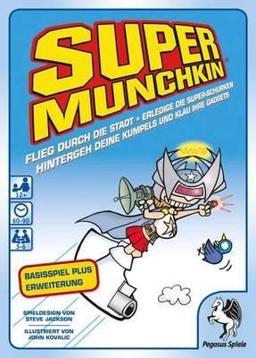 Super Munchkin 1+2 - Kartenspiel - Pegasus Spiele