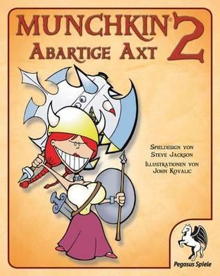 Munchkin 2: Abartige Axt Erweiterung - Kartenspiel - Pegasus Spiele