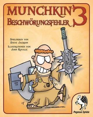 Munchkin 3: Beschwörungsfehler Erweiterung - Kartenspiel - Pegasus Spiele