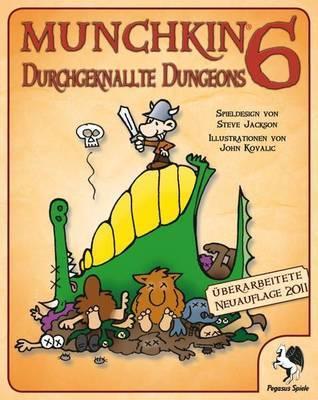 Munchkin 6: Durchgeknallte Dungeons Erweiterung - Kartenspiel - Pegasus Spiele
