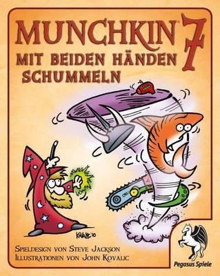 Munchkin 7: Mit beiden Händen schummeln Erweiterung - Kartenspiel - Pegasus Spiele