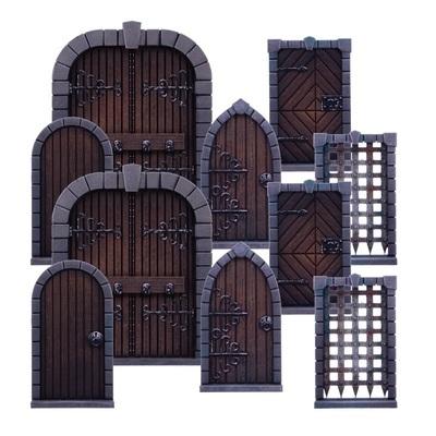 Terrain Crate: Dungeon Doors (Rebranded Product) - EN