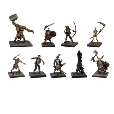 Dungeon Saga: Evil Dead Miniatures Set - Mantic Games