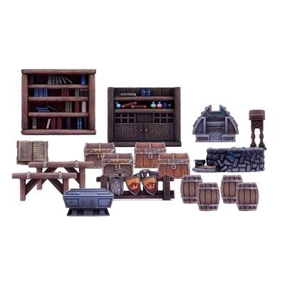 Dungeon Furniture Pack - Dungeon Saga - Mantic Games