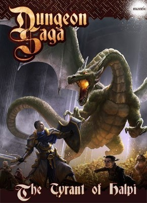 Dungeon Saga: The Tyrant of Halpi (Expansion) - Mantic Games