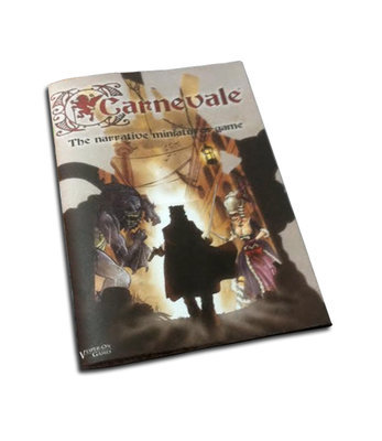 Carnevale, Rulebook English (2. Auflage) Softcover - Regelbuch (e)