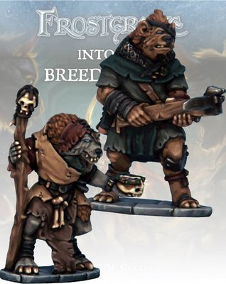 Gnoll Apothecary & Marksman - Frostgrave - Northstar Figures