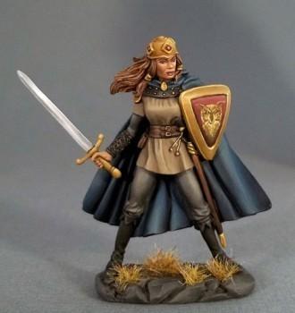 Female Fighter W/Long Sword - Dark Sword Miniatures