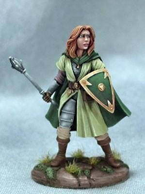 Female Cleric - Dark Sword Miniatures