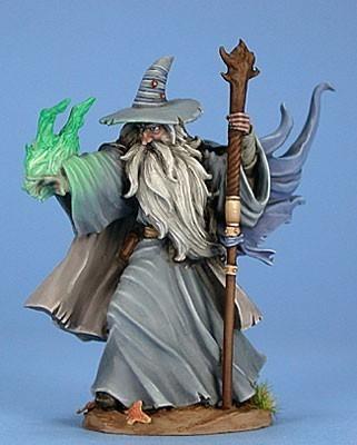 Ancient Male Mage - Dark Sword Miniatures