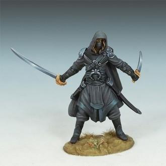 Hooded Assassin - Dark Sword Miniatures