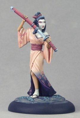 Geisha Assassin - Dark Sword Miniatures