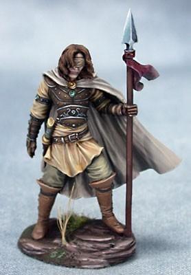 Male Blind Warrior - Dark Sword Miniatures