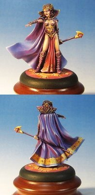 Evil Female Sorceress - Dark Sword Miniatures