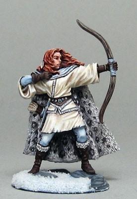 Wilding Spearwife with bow - Dark Sword Miniatures