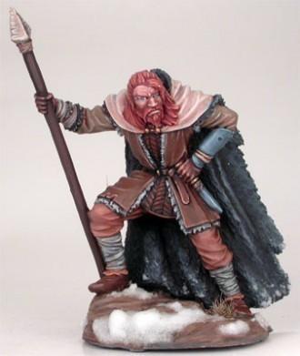 Wildling Warrior with Spear - Dark Sword Miniatures