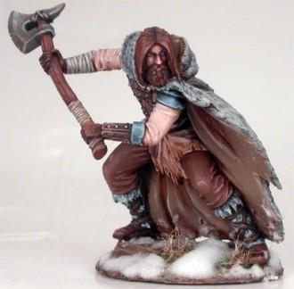 Wildling Warrior with Great Axe - Dark Sword Miniatures