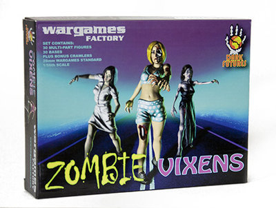 Zombie Vixens (Female) - Dark Futures - Wargames Factory