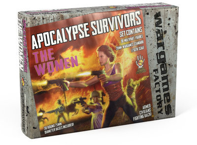 Apocalypse Survivors: The Women - Dark Futures - Wargames Factory
