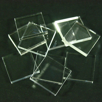 20mm Eck Bases - Transparent 1.5mm  - (10 Stk.) - Litko