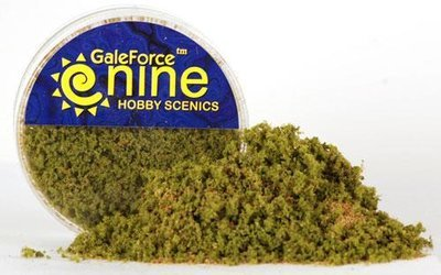 Hobby Round: Spring Undergrowth Flock Blend - Gale Force 9