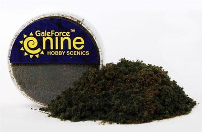 Hobby Round: Dark Conifer Flock Blend - Gale Force 9