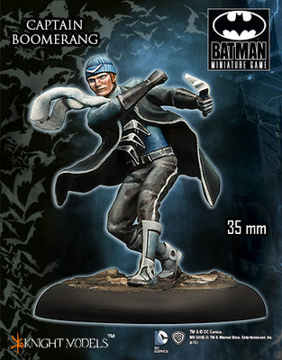 Captain Boomerang - Batman Miniature Game