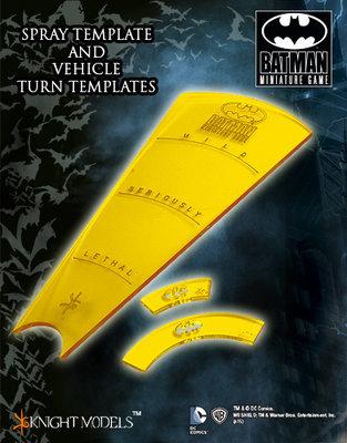 BMG Templates - Schablone - Batman Miniature Game