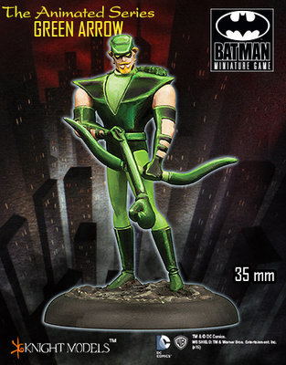 Animated Series: Green Arrow - Batman Miniature Game