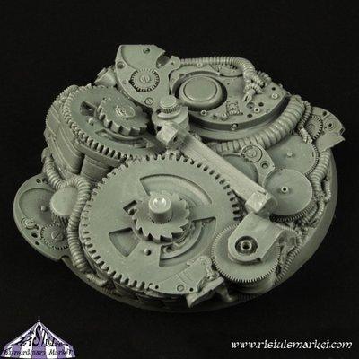 Robotic Gear 60mm Round Base (1) - Bases - Ristul
