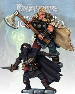 Cult Thief & Barbarian (2) - Frostgrave - Northstar Figures