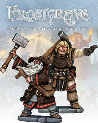 Enchanter & Apprentice - Frostgrave - Northstar Figures