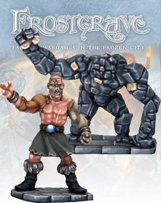 Flesh Golem and Stone Construct - Frostgrave - Northstar Figures
