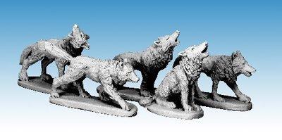 Wolves - Frostgrave - Northstar Figures