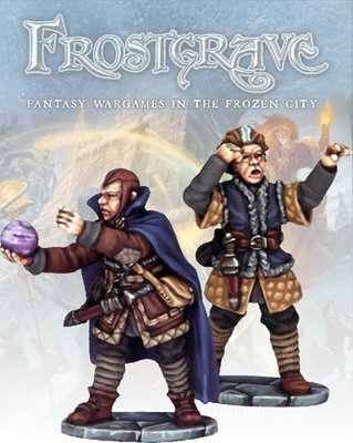 Soothsayer & Apprentice - Frostgrave - Northstar Figures