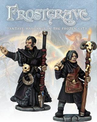 Necromancer & Apprentice - Frostgrave - Northstar Figures