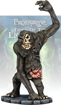 Zombie Snow Troll - Frostgrave - Northstar Figures