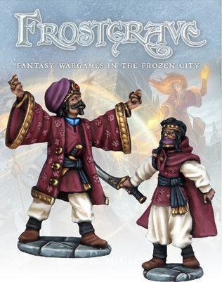 Summoner & Apprentice - Frostgrave - Northstar Figures