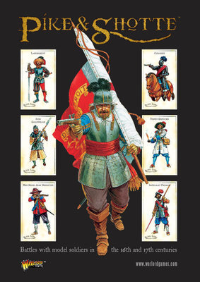 Pike & Shotte Rulebook (e) Regelbuch - Pike & Shotte - Warlord Games