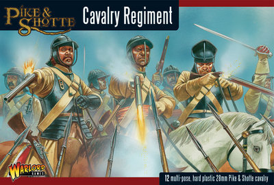 Pike & Shotte Cavalry Regiment - Pike & Shotte - Warlord Games